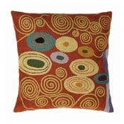 Poszewka na poduszkę Klimt Brown/Green, 45x45 cm