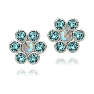 Kolczyki Swarovski Elements Aurore Blue