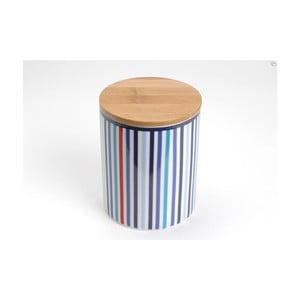 Pojemnik z przykrywką Blue Stripes