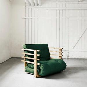 Fotel rozkładany Karup Funk Natural/Botella