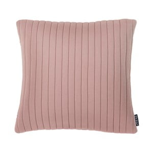 Różowa poduszka ZicZac Comrad, 45x45 cm