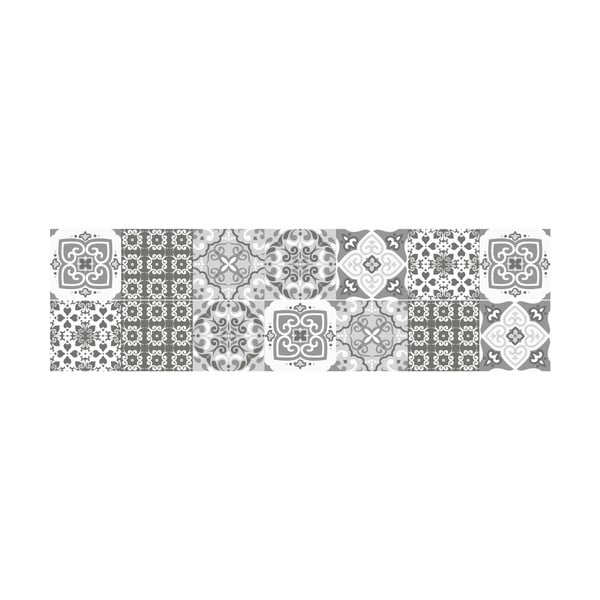 Komplet 2 naklejek na schody Ambiance Marrakech, 15x105 cm