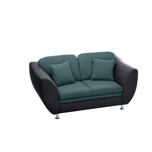 Sofa dwuosobowa Maderna Anthracite/Turquoise