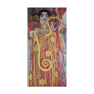 Obraz Gustav Klimt - Hygieia, 50x100 cm