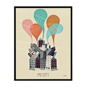 Plakat  My City, 30x40 cm