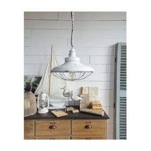 Biała lampa wisząca Orchidea Milano Old