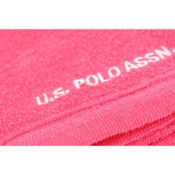 Komplet 2 ręczników U.S. Polo Assn. Wash Fuchsia, 30x50 cm