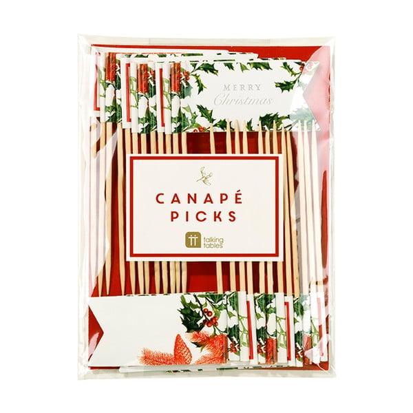 Zestaw 24 mini flag Canape