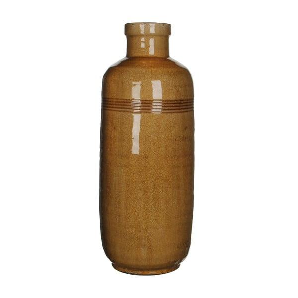Wazon ceramiczny Abbey Ochre, 60x21 cm