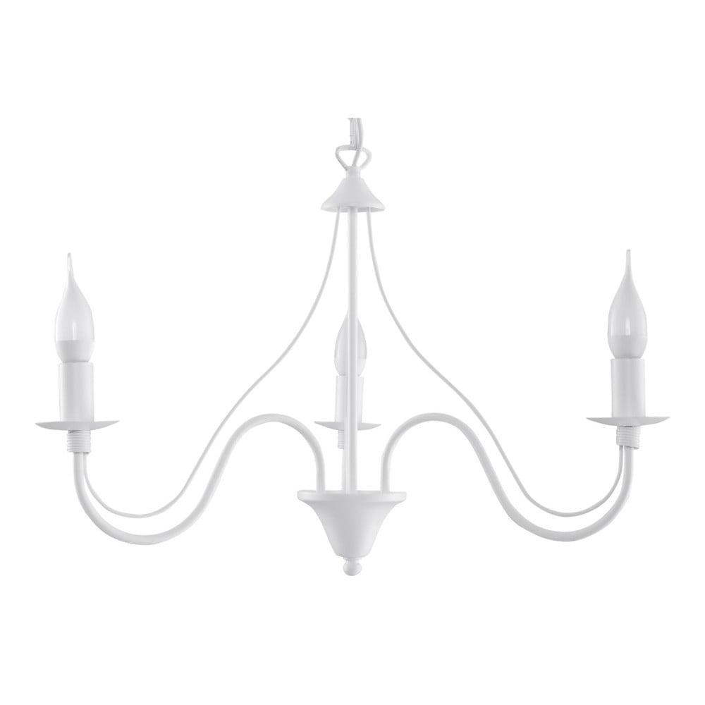 Biały żyrandol Nice Lamps Floriano 3