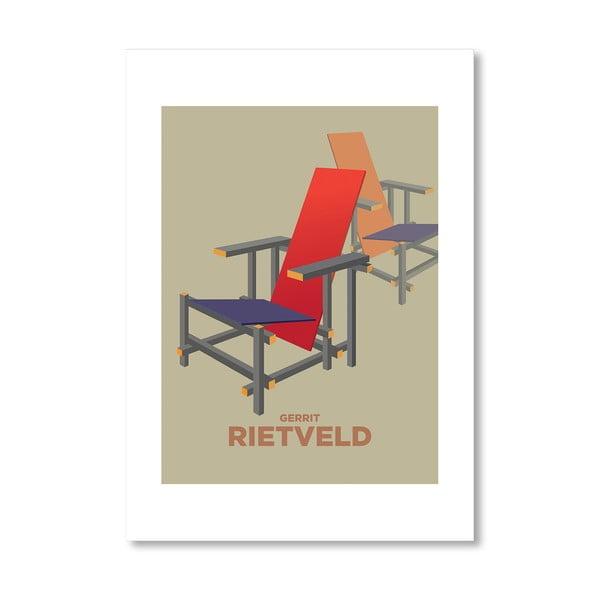 "Plakat autorski ""Rietveld"""