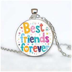 Damski łańcuszek z wisiorkiem Butoni de Camasa Best Friends Forever