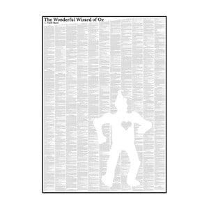 """Plakat """"Czarnoksiężnik z Krainy Oz"""" (detal), 50x70 cm"""