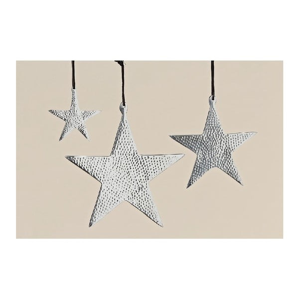 Dekoracja wisząca Star, 3 sztuki