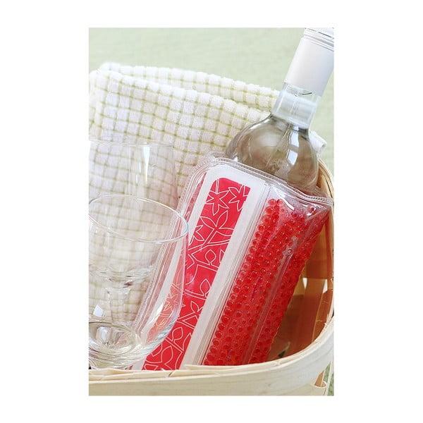 Pojemnik do chłodzenia wina Popsicooler, czerwony