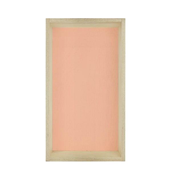 Zestaw 3 półek HF Living Oblong – biała, różowa, zielona