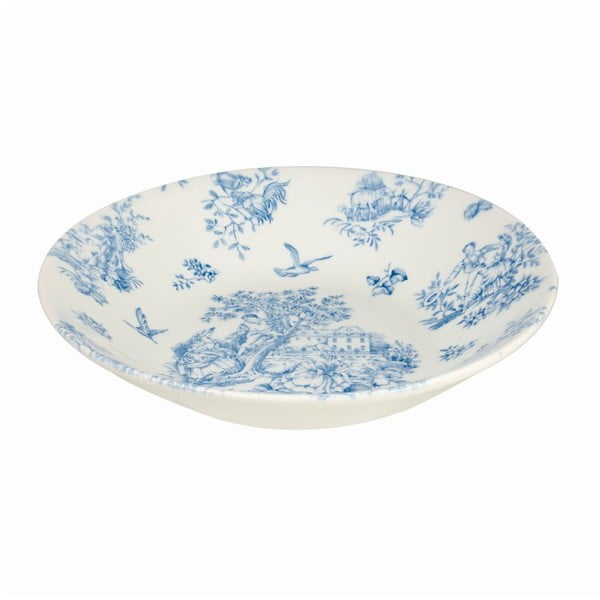 Głęboki talerz Churchill China Toile Blue de Jardin, 24 cm