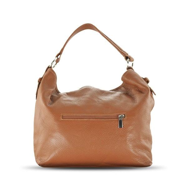 Skórzana torebka Audrey, cognac