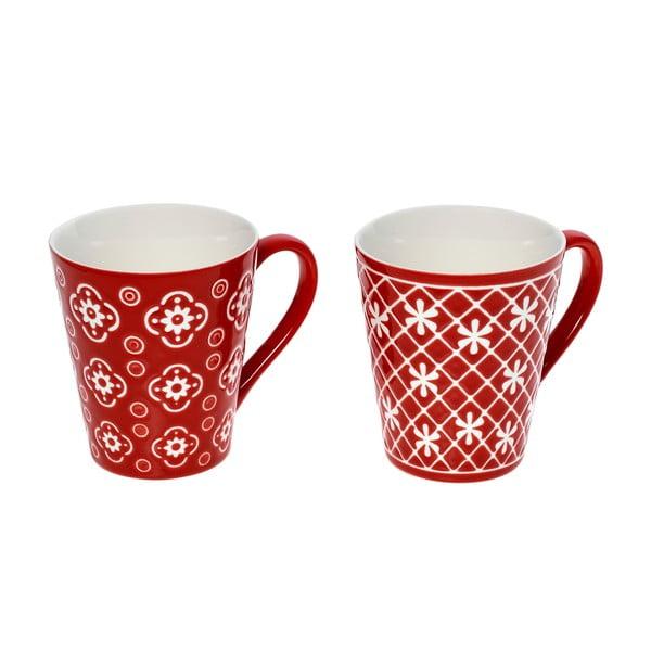 Zestaw 2 kubków InArt Porcelain, 320 ml