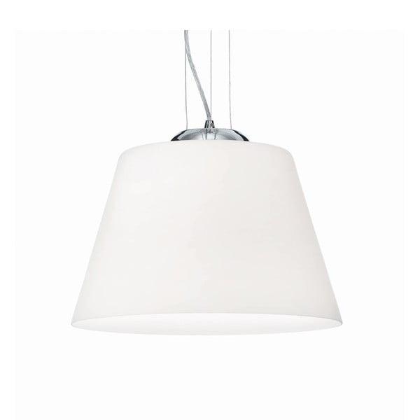 Biała lampa wisząca Evergreen Lights Crido