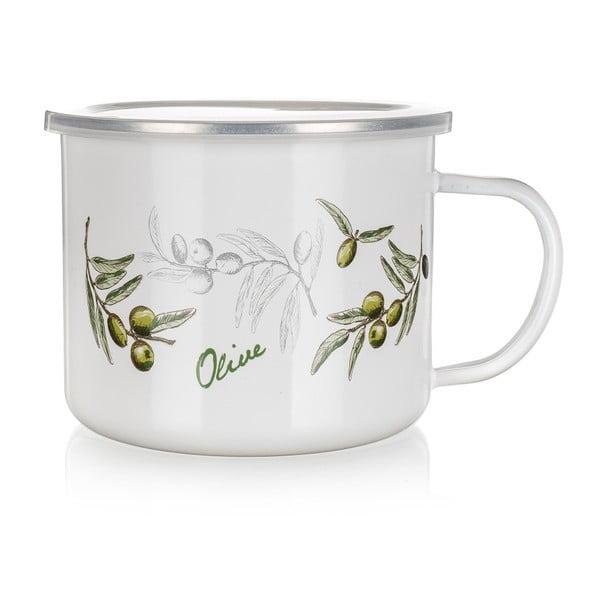 Kubek emaliowany Banquet Olives, 500 ml