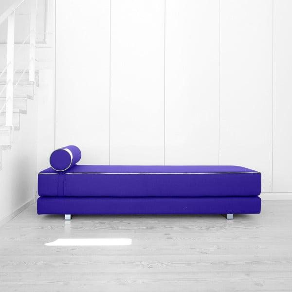 Fioletowa sofa rozkładana Softline Lubi