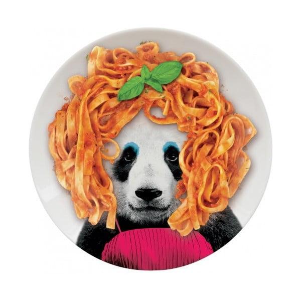 Talerz Wild Dining Panda