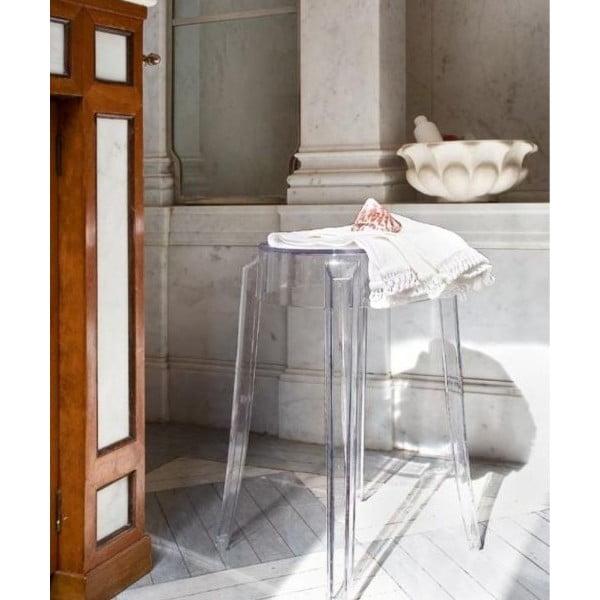 Stołek Kartell Charles Ghost, 65 cm