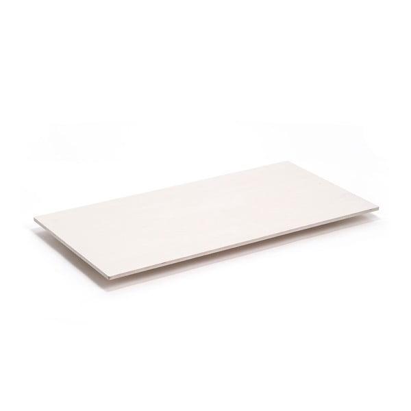 Blat do stołu Flat 150x75 cm, pobielany