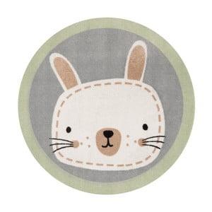 Dywan dziecięcy Zala Living Rabbit, ⌀ 100 cm