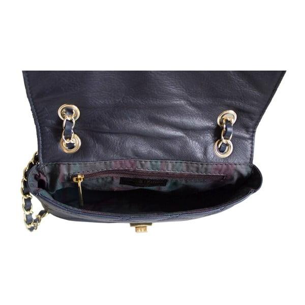 Skórzana torebka Valentina Navy
