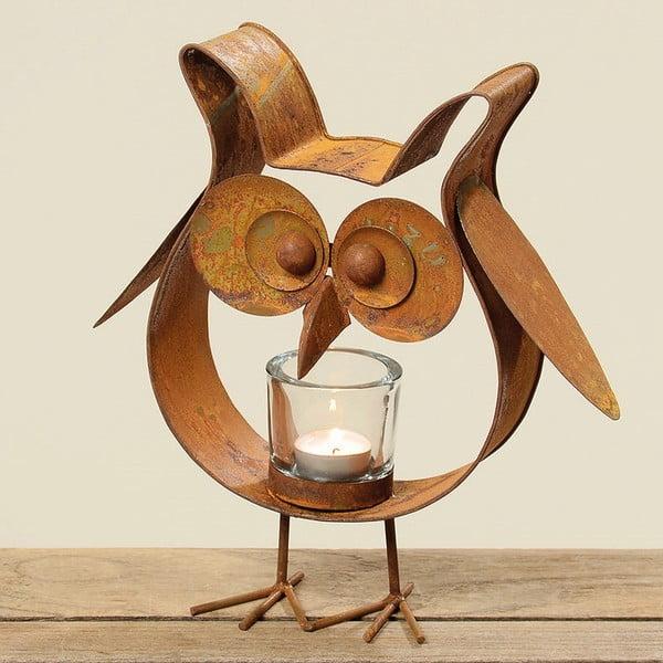 Świecznik Bronze Owl