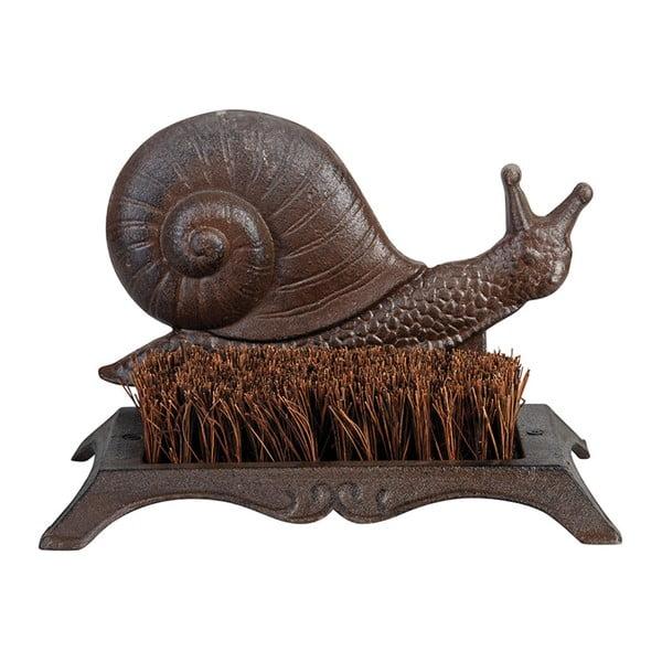 Szczotka żeliwna do butów z motywem ślimaka Esschert Design