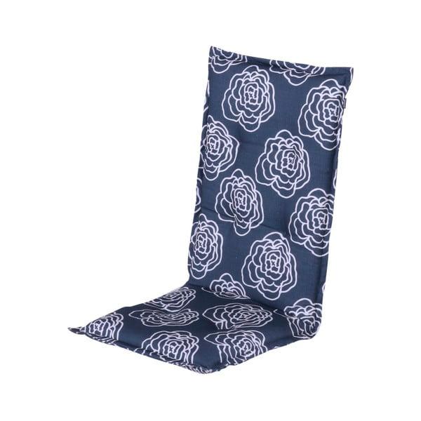 Niebieska poduszka ogrodowa Hartman Peonie, 123x50 cm