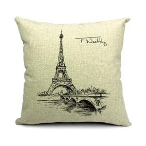 Poszewka na poduszkę Eiffel, 45x45 cm
