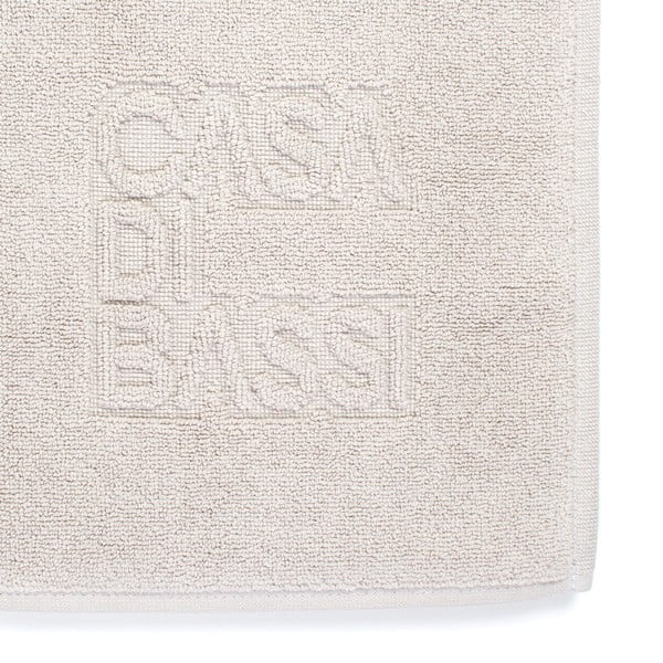 Kremowy dywanik łazienkowy z bawełny Casa Di Bassi Basic, 50x70 cm