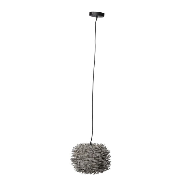 Lampa sufitowa Mikad Grey, 31x23 cm