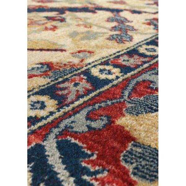 Dywan wełniany Ibai, 120x160 cm, beżowy