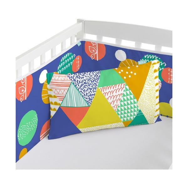 Ochraniacz do łóżeczka Geo Jungle, 70x70x70 cm