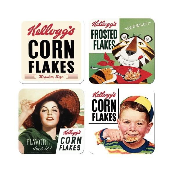 Zestaw 4 podstawek Corn Flakes