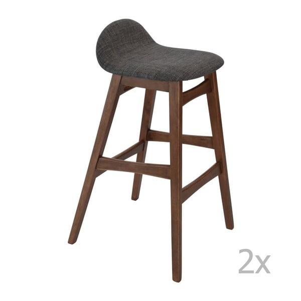 Zestaw 2 barowych krzeseł RGE Ludwig
