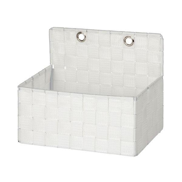 Biały organizer łazienkowy Wenko Adria