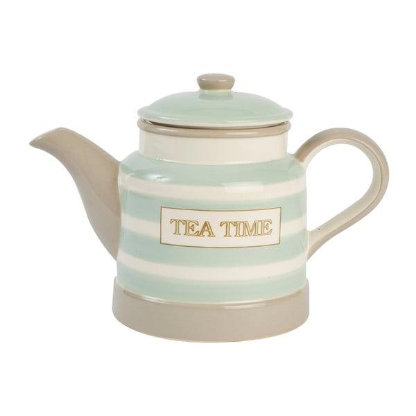 Dzbanek na herbatę Mint Stripe, 1l