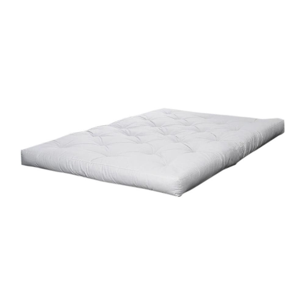 Kremowy materac futonowy Karup Design Comfort,90x200cm