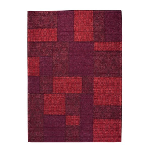 Dywan Patchwork 9 Red, 140x200 cm