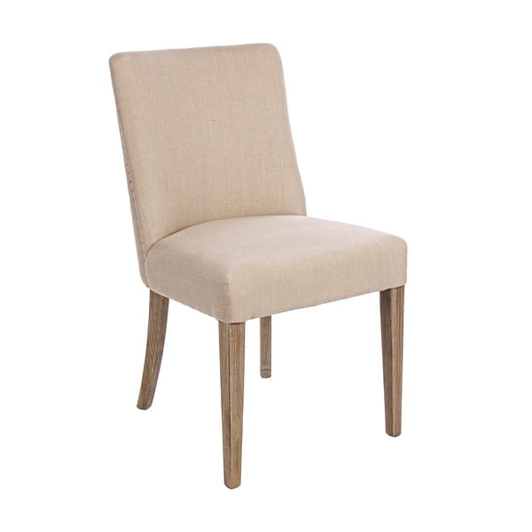 Kremowe krzesło Bizzotto Schienale