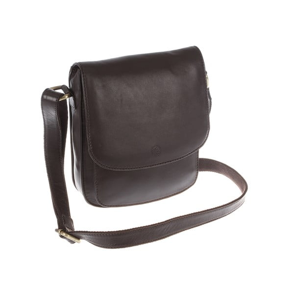 Damska torba skórzana Amarylis Brown Cross-Body