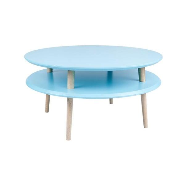 Stolik kawowy UFO 35x70 cm, niebieski