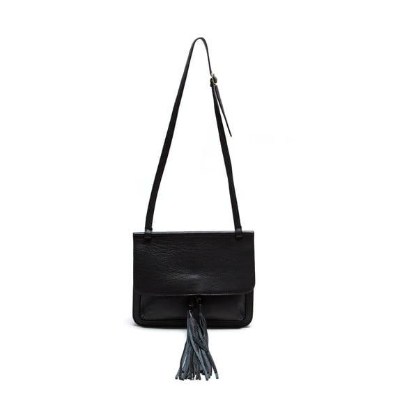 Skórzana torebka Isabella Rhea 1154, czarna