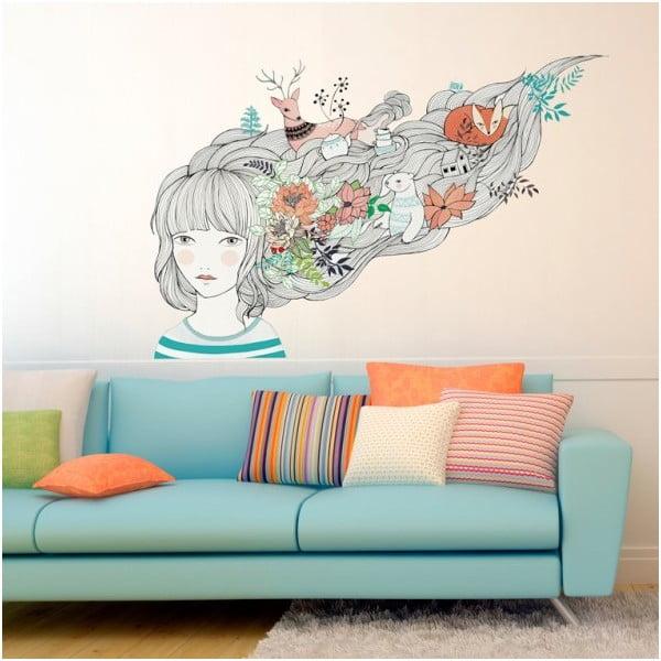Naklejka My dreams and me 58x85 cm